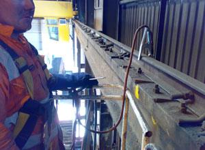 Crane Rail Welding – Hardface Technologys